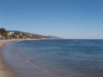 Paradise Cove in Malibu