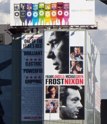 Frost Nixon movie billboard