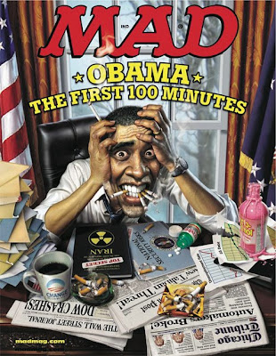 Mad magazine Obama cover