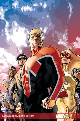 Captain Britain and MI13 issue 11