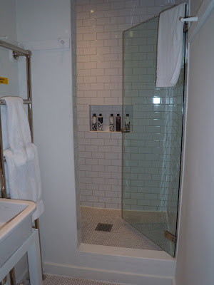 High Road House luxurious shower