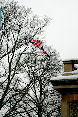 Chiswick Townhall in snow