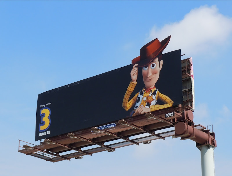 Woody Toy Story 3 movie billboard