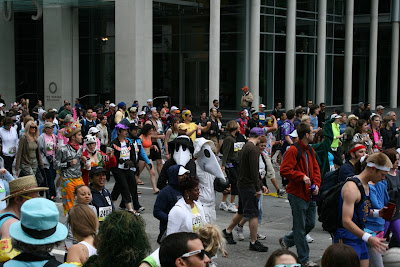 Bay to Breakers crowds 2010