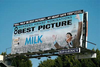 MILK Best Picture billboard