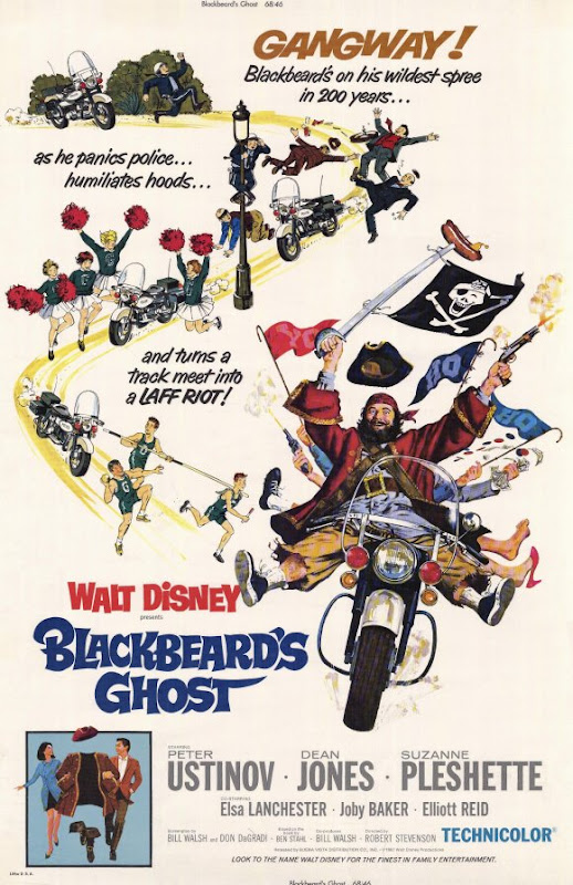 Blackbeard's Ghost movie poster