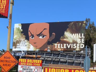 The Boondocks season 3 TV billboard