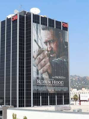 Robin Hood movie billboard