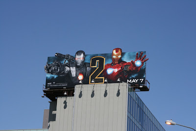 War Machine Iron Man 2 billboard