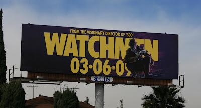 Rorschach Watchmen movie billboard