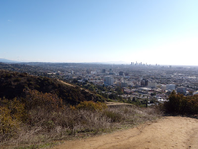 Los Angeles view from Runyon Canyon on 26 Dec 08