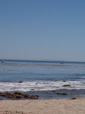 Ocean view at Paradise Cove