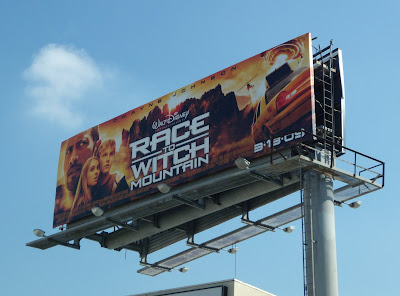 Race to Witch Mountain billboard