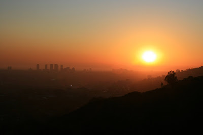 Sunset viewed from Runyon Canyon