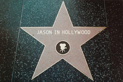 Jason in Hollywood star on Walk of Fame