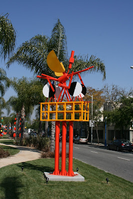 Peter Shire sculpture West Hollywood