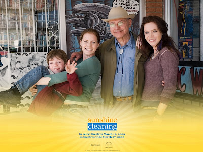Sunshine Cleaning movie cast photo