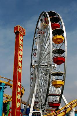Santa Monica Pacific Park fun fair