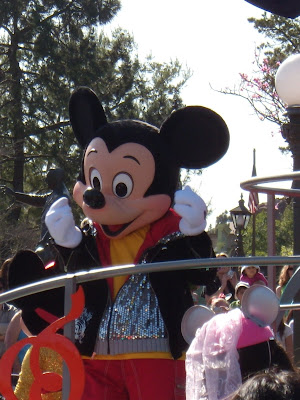 Mickey Mouse at Disneyland California