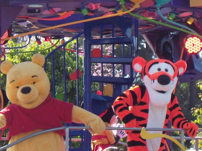 Disneyland Winnie the pooh and Tigger too!