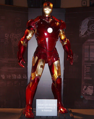 Iron Man suit movie costume