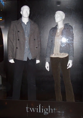 Cast costumes from the Twilight movie