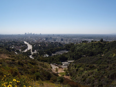 View from Hollywood Bowl Overlook