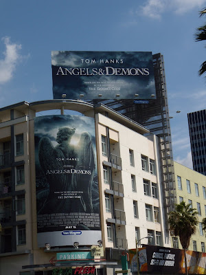Angels & Demons movie billboards