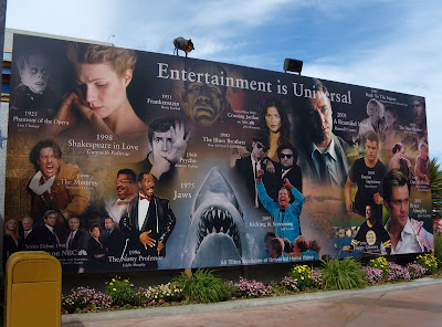 Universal Studios Hollywood mural of fame