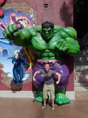 Jason Hulks out at Universal Studios