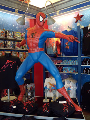 Spider-man shop model