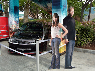 Fast & Furious Jordanna Brewster and Paul Walker