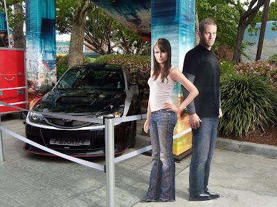 Fast & Furious Jordanna Brewster and Paul Walker
