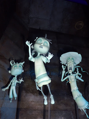 Original Coraline stop-motion animation models