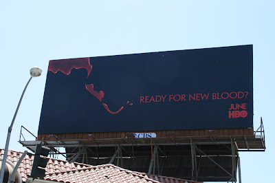 Trueblood season 2 TV billboard