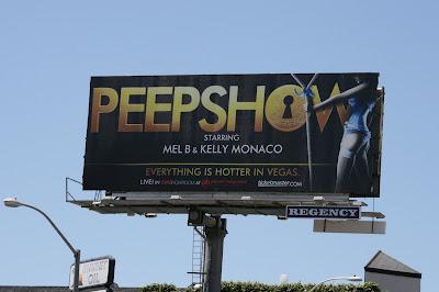 Peepshow Vegas billboard