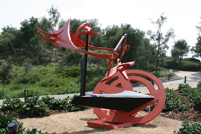 Gandydancer's Dream in Getty sculpture garden