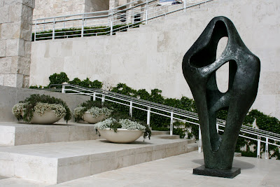 Getty Center Sculpture Terrace