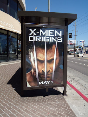 X-Men Origins - Wolverine movie poster