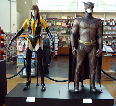 Watchmen Nite Owl and Silk Spectre movie costumes