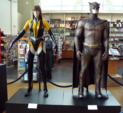 Watchmen Nite Owl and Silk Spectre movie costumes