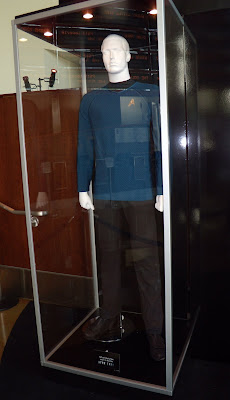 Blue male Starfleet uniform Star Trek movie
