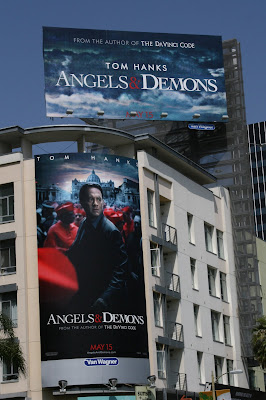 Angels and Demons movie billboards ArcLight Hollywood