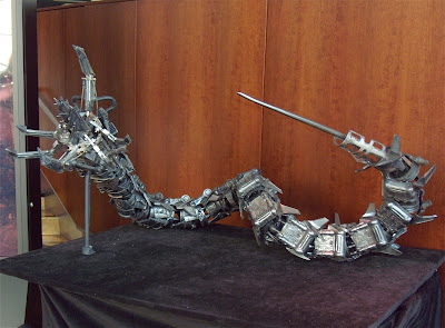 Terminator Salvation robot on display at ArcLight Hollwyood
