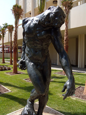 The Shade Auguste Rodin bronze sculpture at LACMA