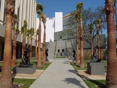 B Gerald Cantor Sculpture Garden LACMA