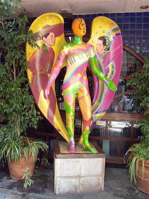 Universal Citywalk restaurant angel