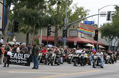 West Hollywood Gay Pride Parade 2009 eagle LA bikers