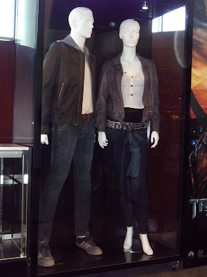 Shia LeBeouf and Megan Fox movie costumes from Transformers 2