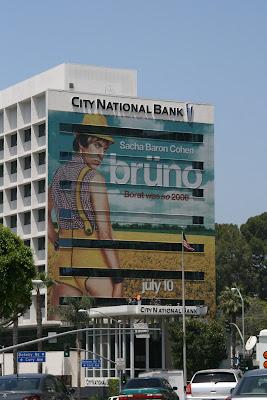 Bruno film billboard